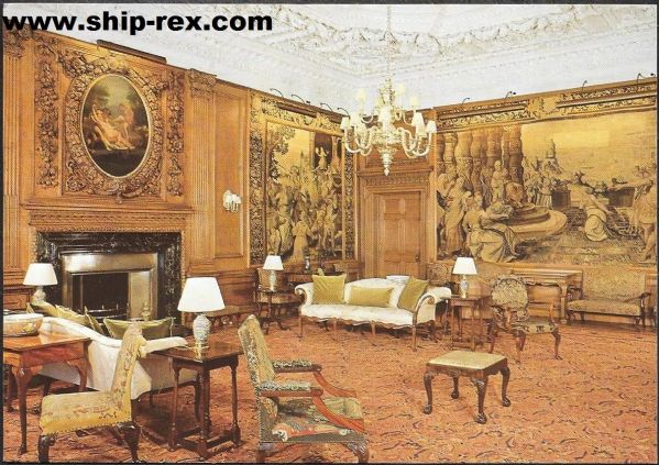 Palace Of Holyroodhouse - interior postcard